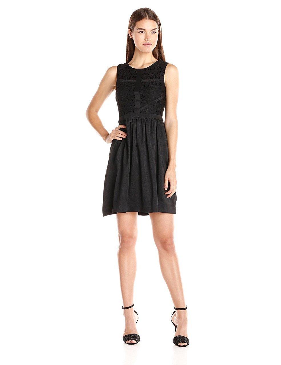 Taylor - Lace Jewel Neck Dress 5927M