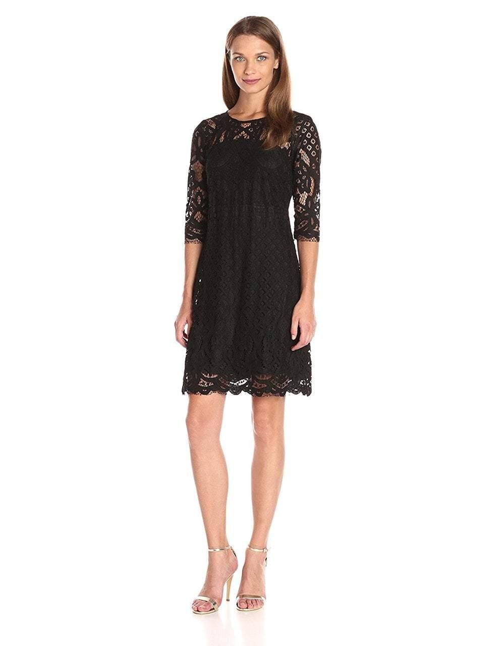 Taylor - Quarter Length Sleeve Lace Dress 8568MJ