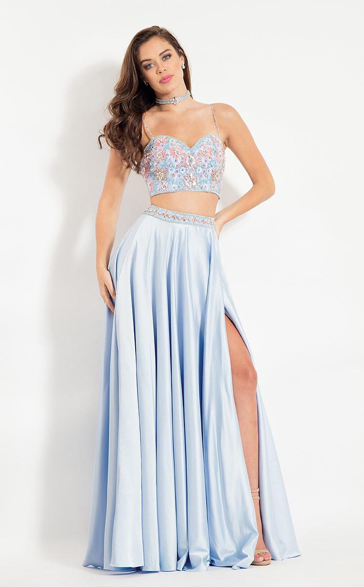 Rachel Allan - 6083 Beaded Sweetheart A-line Dress