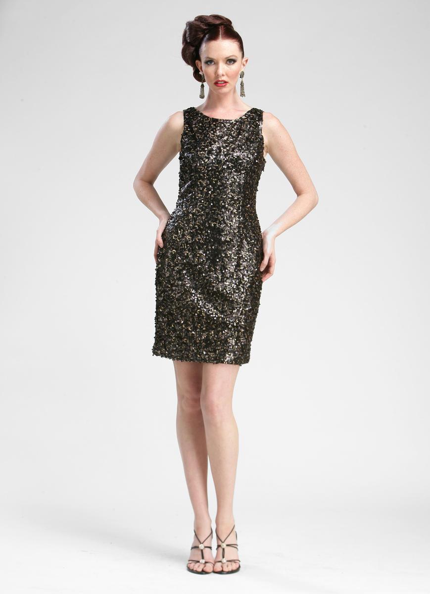 Sue Wong - C3360 Full Sequined Bateau Sheath Dress