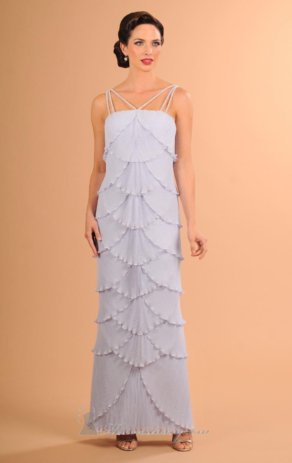 Daymor Couture - Straight Across Column Dress 606