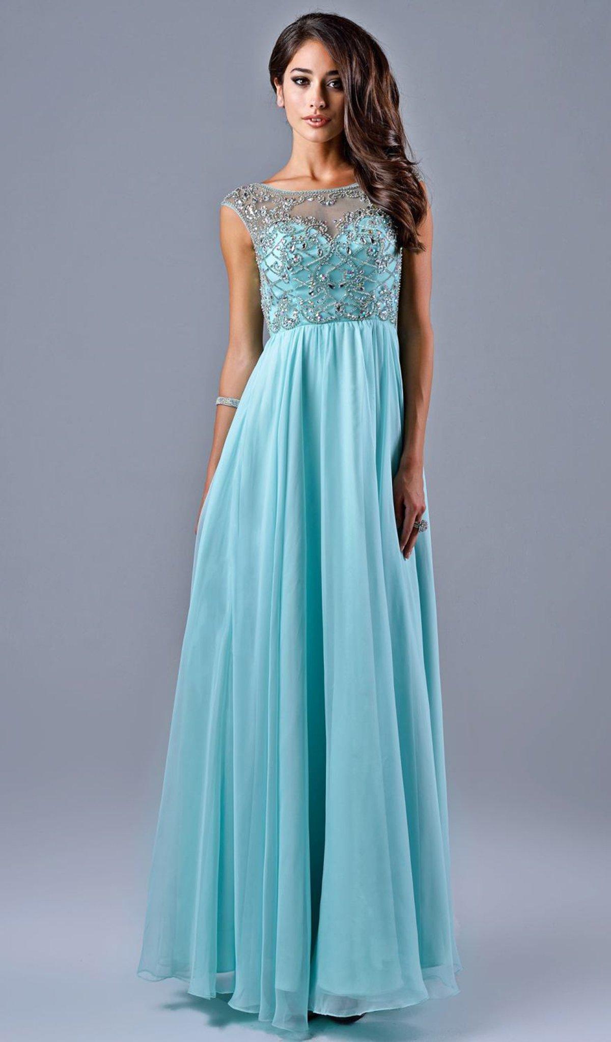 Nina Canacci - 7116 Dress in Mint