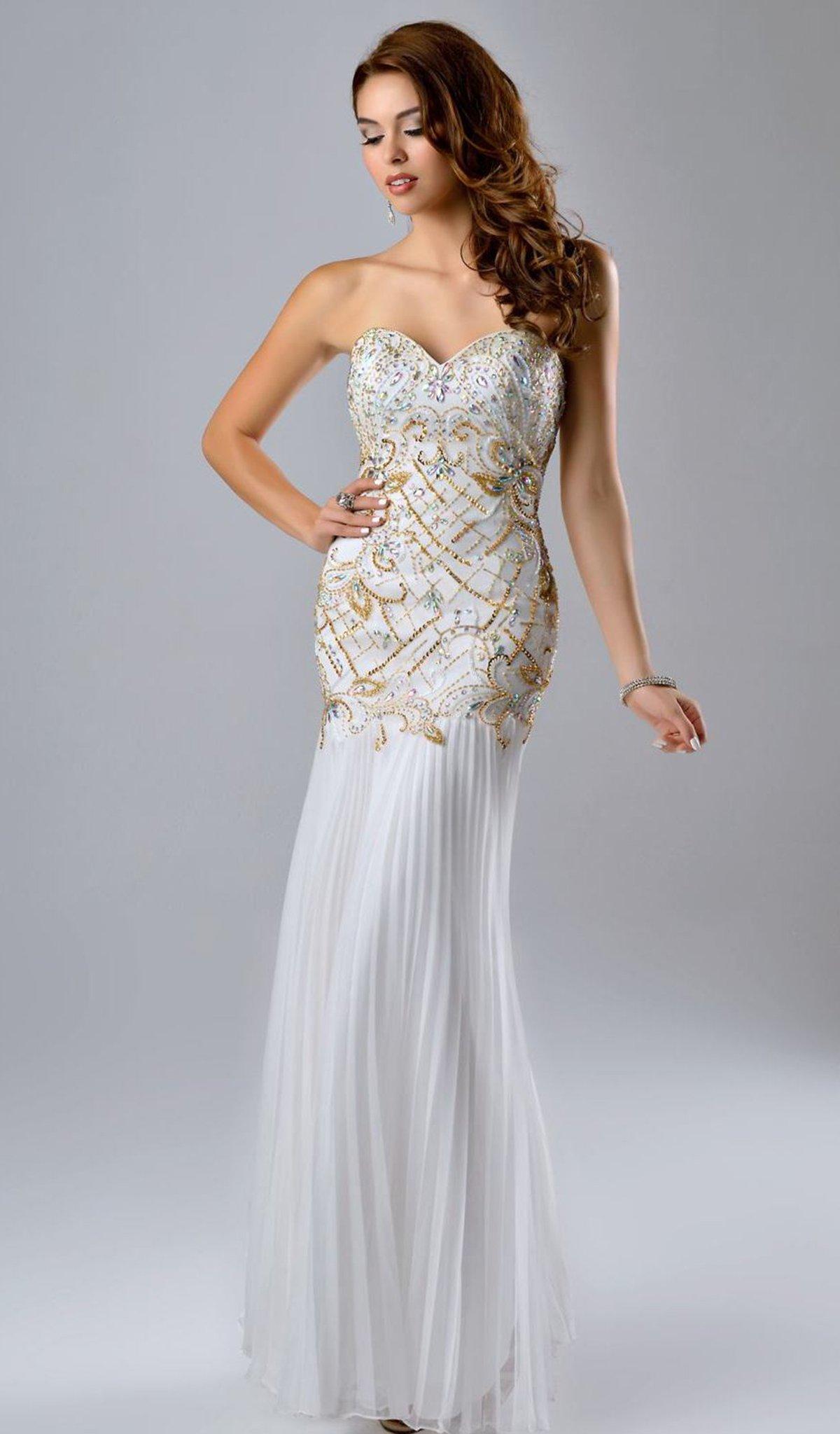 Nina Canacci - 7121 Dress in Ivory