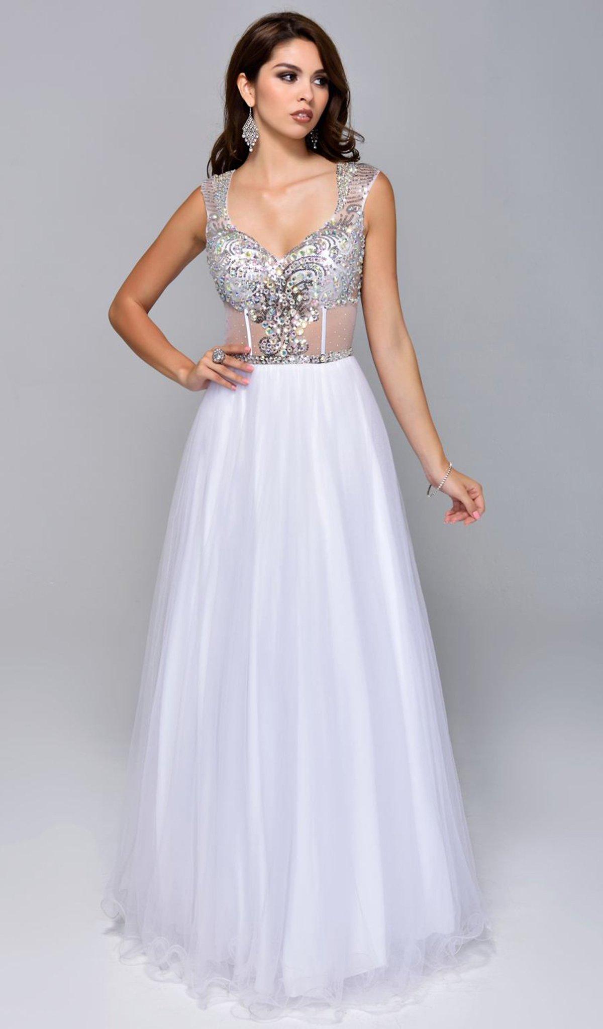 Nina Canacci - 8035 Dress in White