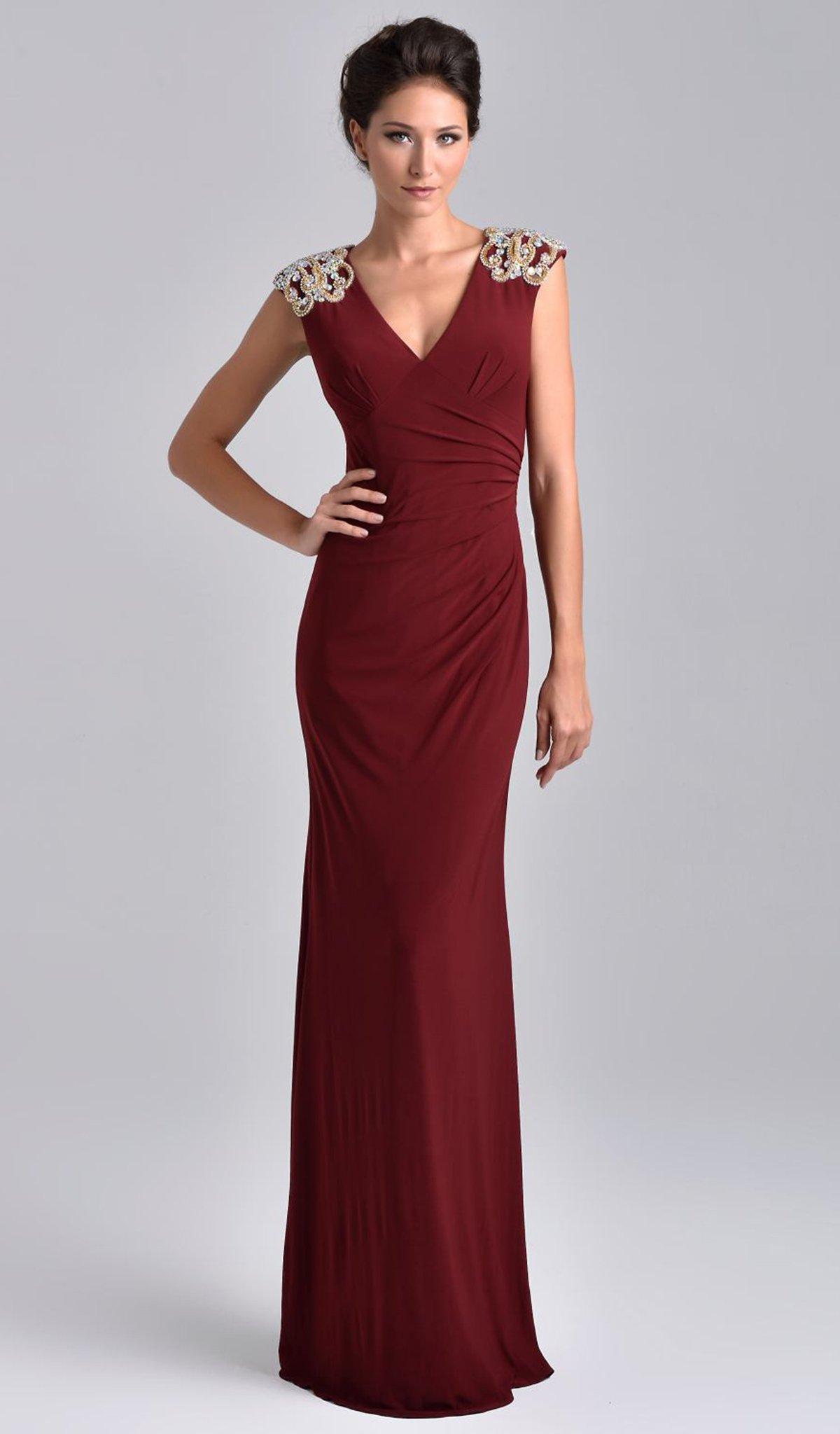 Nina Canacci - M206 Dress in Wine