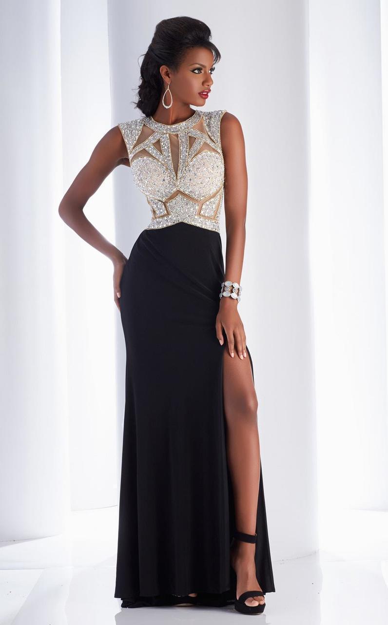 Clarisse - 4725 Diamond Shine Evening Gown