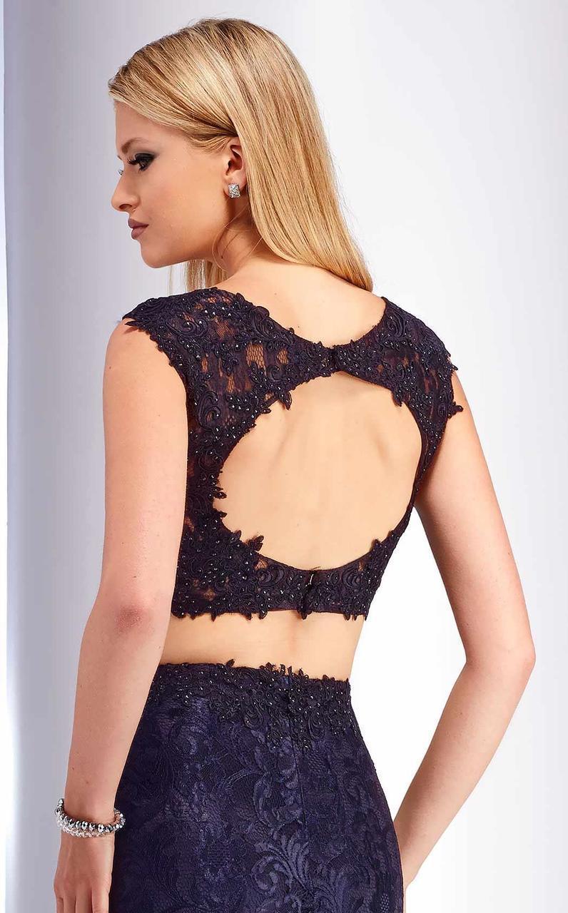 Clarisse - s2716 Two Piece Lace Dress