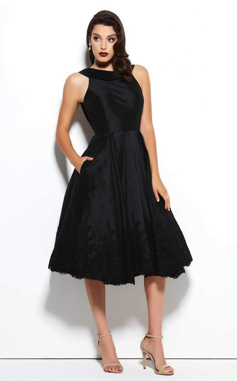Mac Duggal - 62435 Lace Bateau A-line Dress