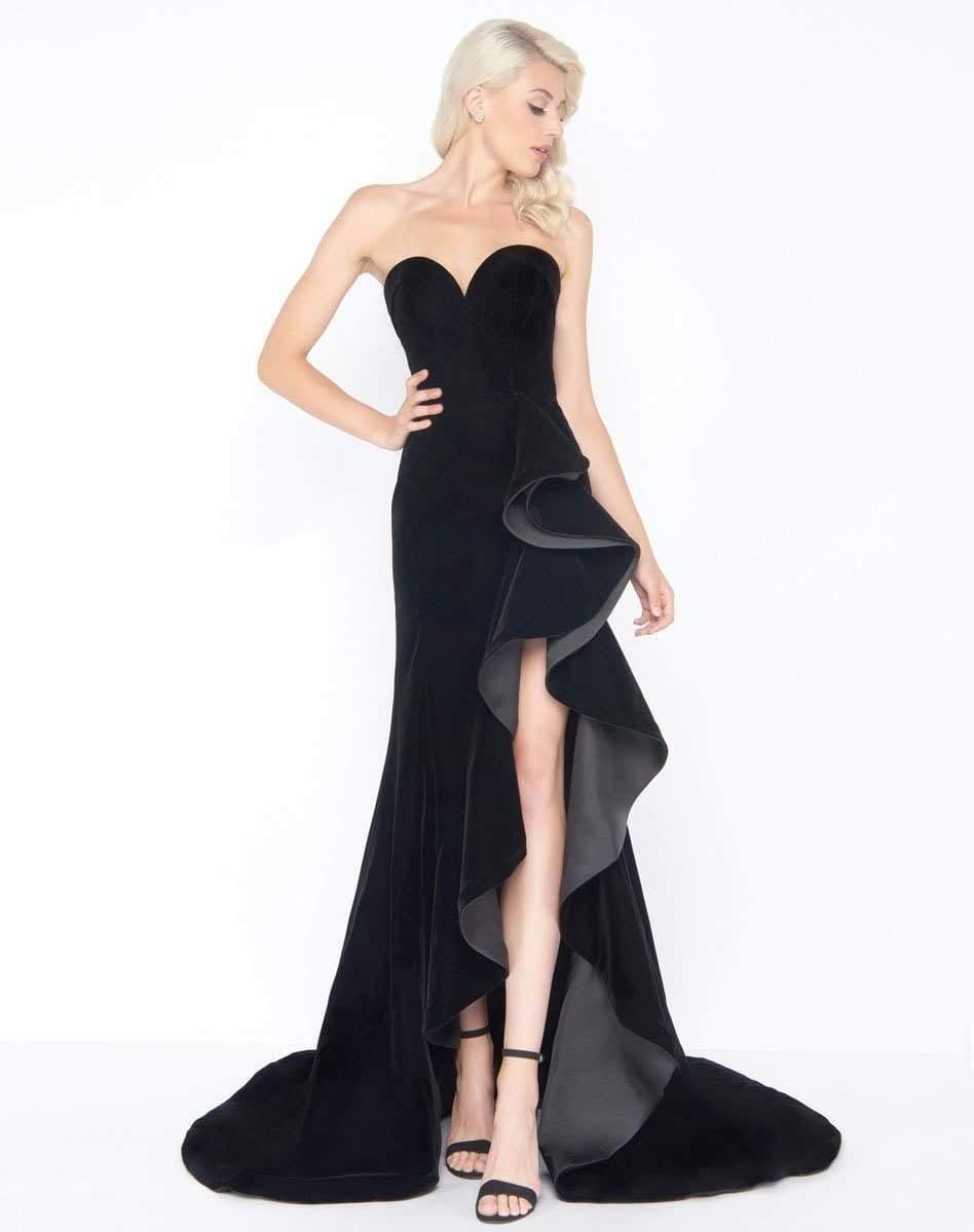 Mac Duggal - 66517M Ruffle Sweetheart Sheath Dress