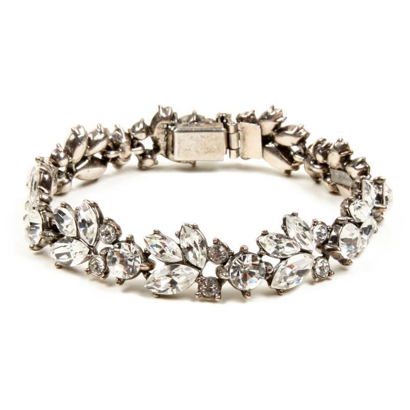 Ben-Amun - Crystal Floral Bracelet